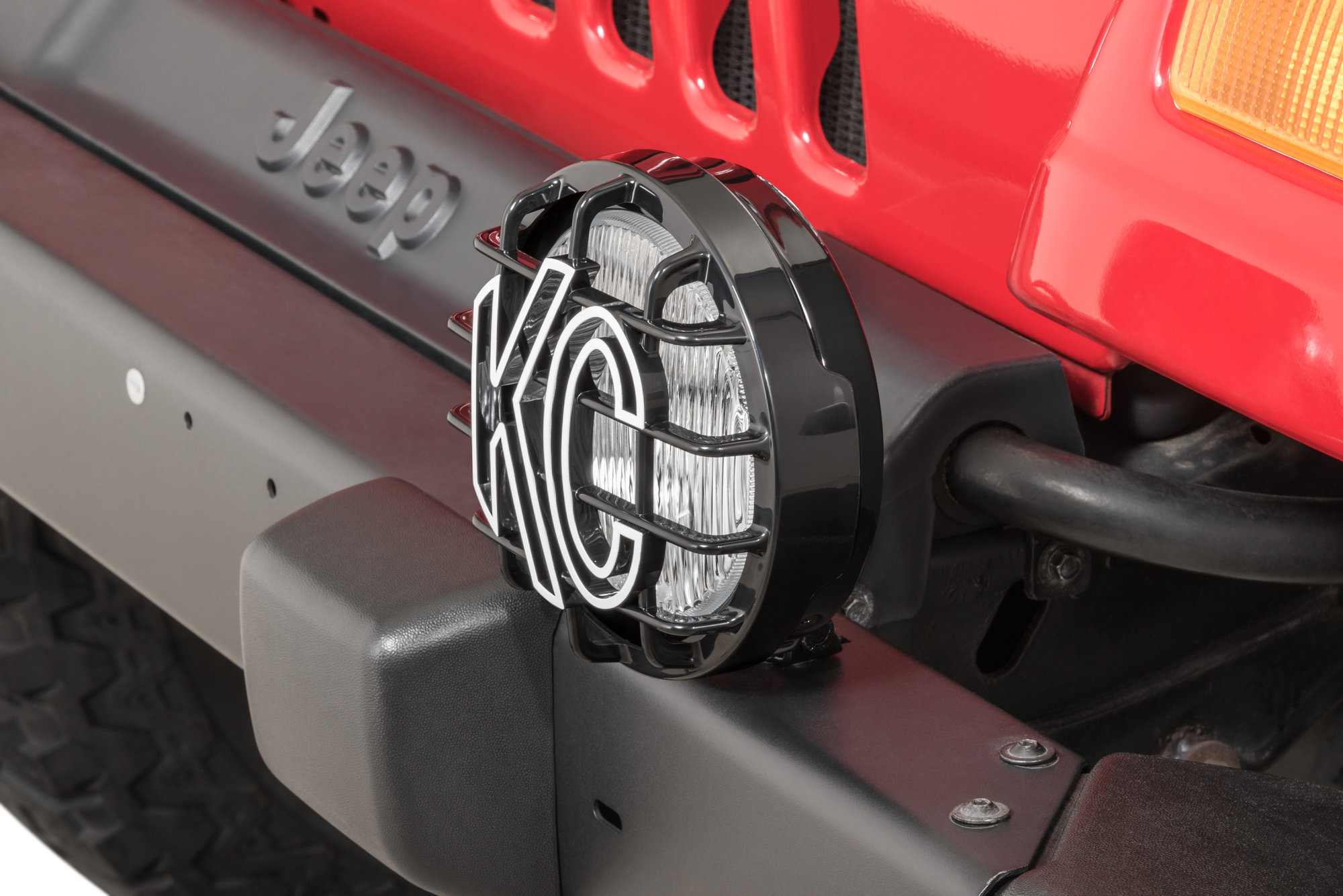 hight resolution of kc hilites replacement fog light for 97 04 jeep wrangler tj