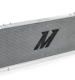 mishimoto mmrad xj 89 performance aluminum radiator for 89 01 jeep cherokee xj with 4 0l engine quadratec [ 2000 x 1335 Pixel ]