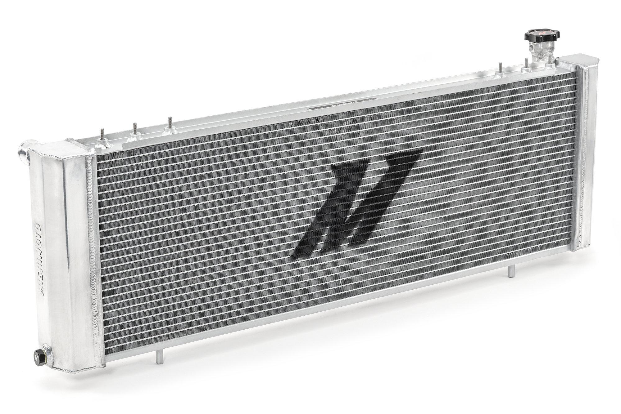 hight resolution of mishimoto mmrad xj 89 performance aluminum radiator for 89 01 jeep cherokee xj with 4 0l engine quadratec