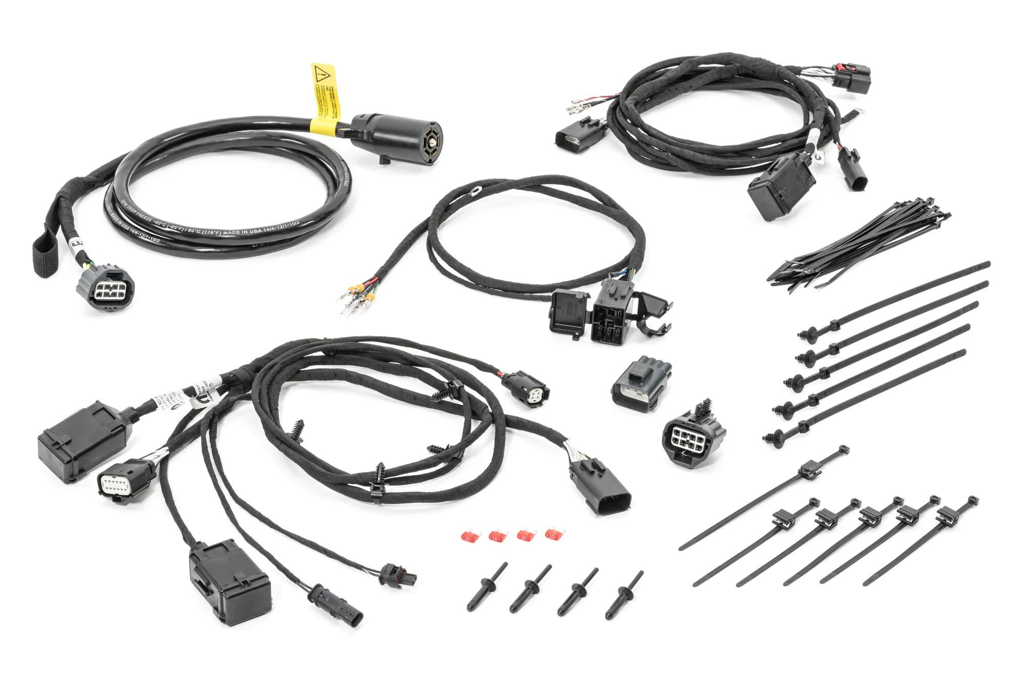 wiring jeep wrangler lights for towing