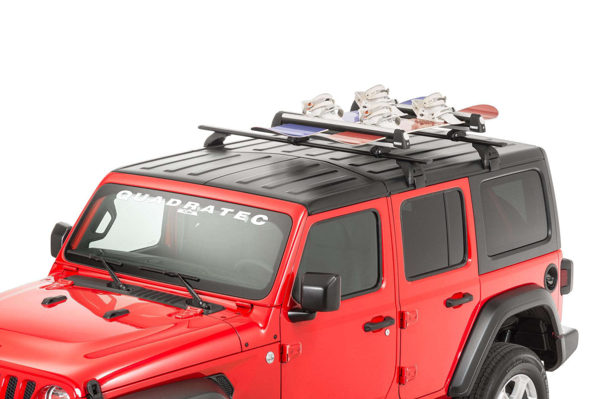 mopar flat top ski and snowboard carrier