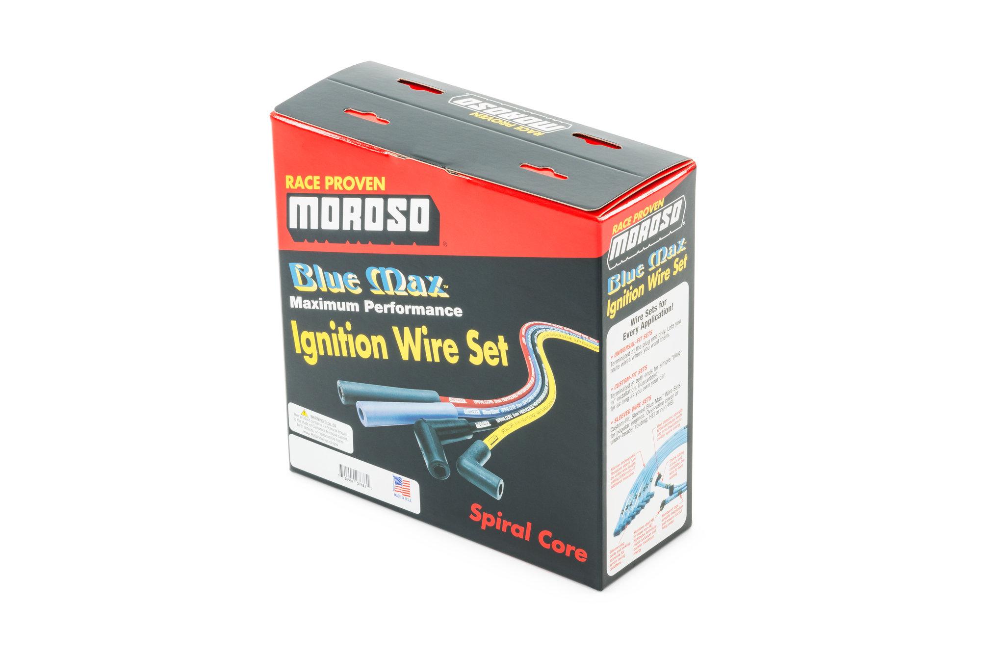 hight resolution of moroso performance blue max spark plug wires for 72 81 jeep cj 5 cj 7 with 304 v8 quadratec