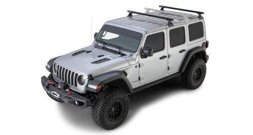small resolution of rhino rack 2 bar backbone roof rack with quick mount legs for 18 19 jeep wrangler unlimited jl 4 door w hardtop quadratec