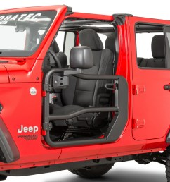 rugged ridge fortis front tube doors with free quadratec mirrors for 18 19 jeep wrangler jl and 2020 gladiator jt quadratec [ 2000 x 1335 Pixel ]