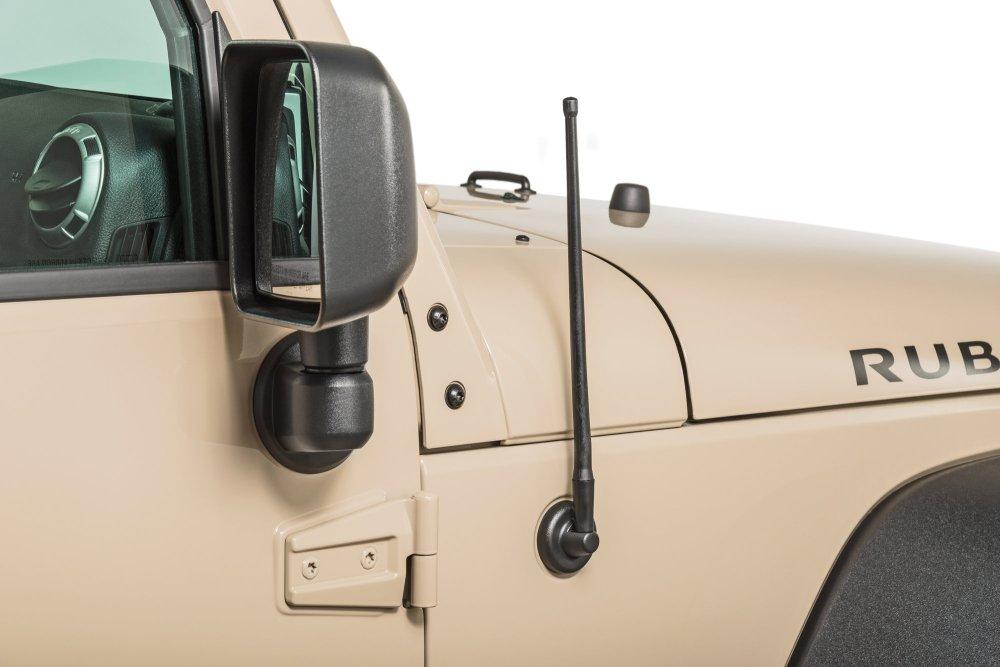 medium resolution of rugged ridge 17212 10 13 stubby reflex antenna for 07 19 jeep wrangler jk jl and 2020 gladiator jt quadratec