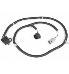 rugged ridge 17275 01 plug n play tow hitch wiring harness for 07 18 [ 1000 x 1000 Pixel ]