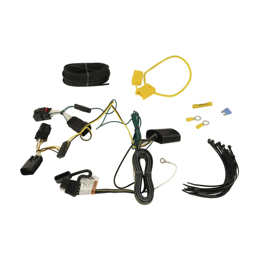 medium resolution of rugged ridge 17275 04 hitch wiring harness for 18 19 jeep wrangler jl