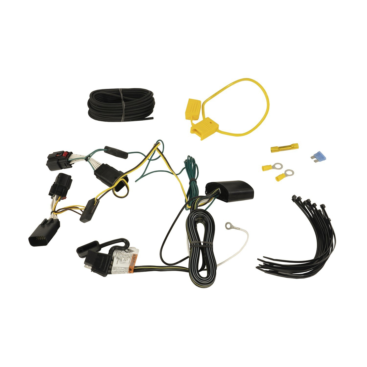hight resolution of rugged ridge 17275 04 hitch wiring harness for 18 19 jeep wrangler jl