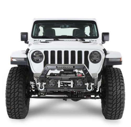 small resolution of smittybilt 76730 stryker front bumper for 07 19 jeep wrangler jl and jk quadratec