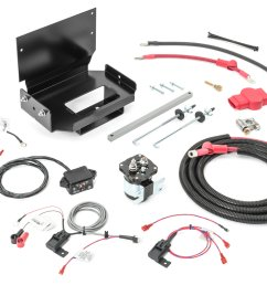 wrangler power products 3100130000 dual battery tray kit for 87 01 jeep auxiliary battery wiring [ 2000 x 1335 Pixel ]