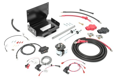 small resolution of wrangler power products 3100130000 dual battery tray kit for 87 01 jeep auxiliary battery wiring