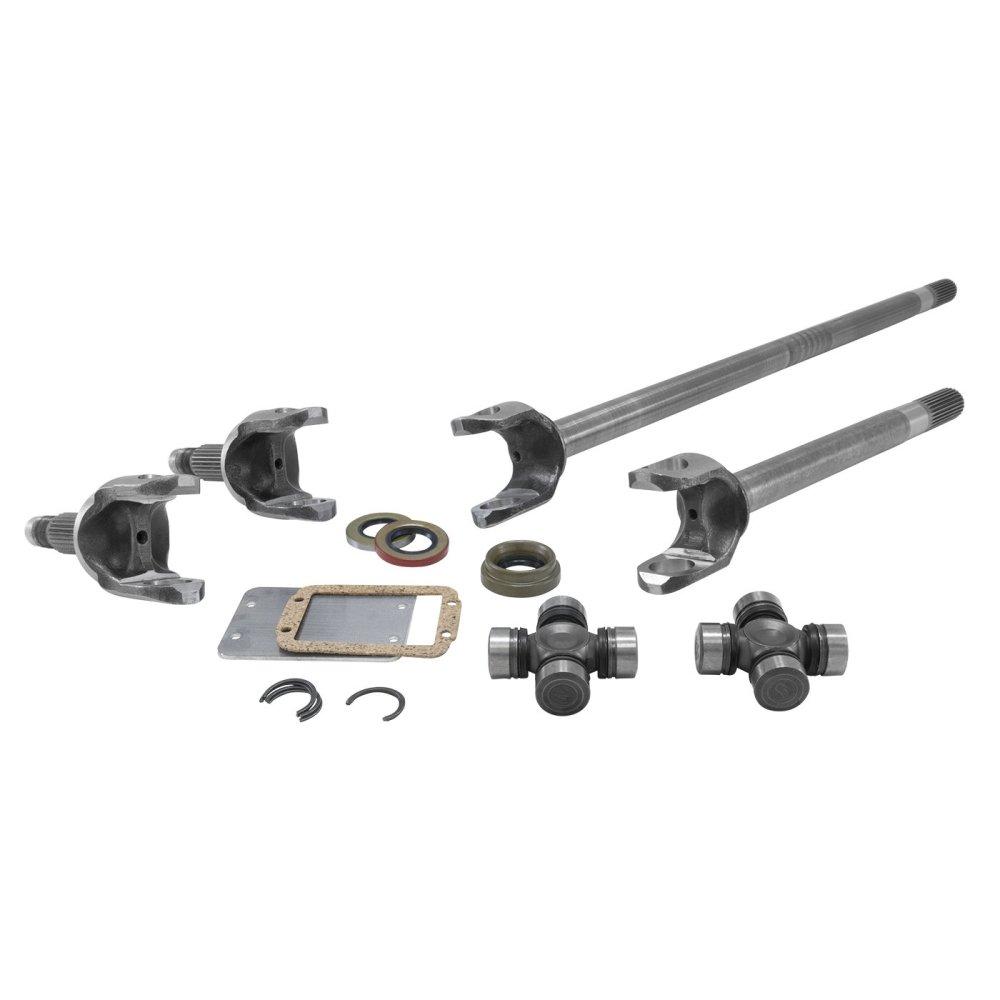 medium resolution of yukon gear axle 4340 chromoly dana 30 front axle kit for 84 06 jeep