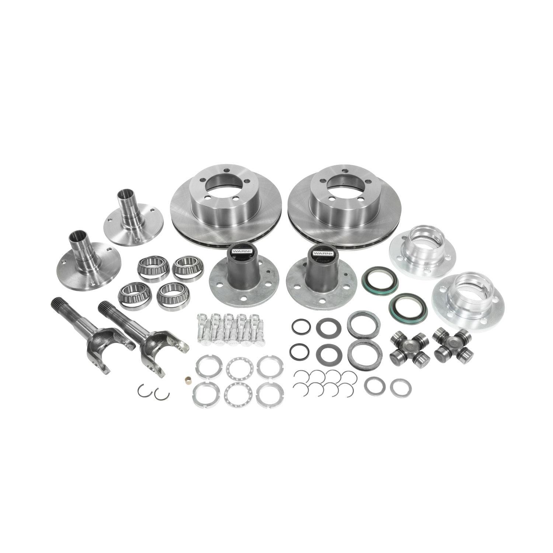 Yukon Gear & Axle Spin Free Locking Hub Conversion Kit for