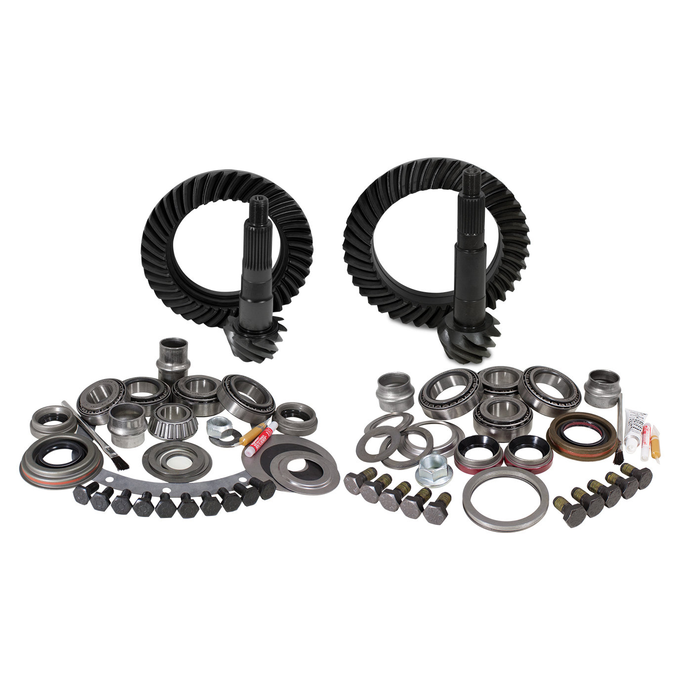 Yukon Gear & Axle Front & Rear Ring and Pinion with Master