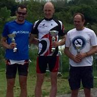 Men podium: R. Noval, M. Mason, N. Unwin