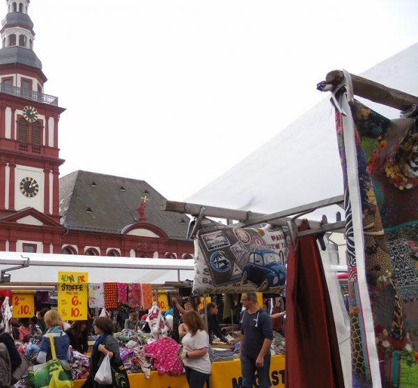 Holländer Stoffmarkt in Mannheim #Mannheim #Stoffmarkt