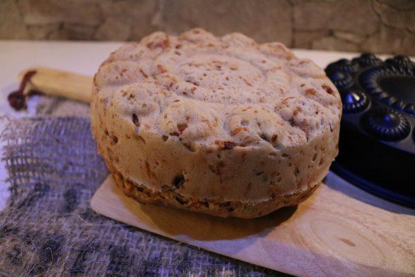 Rezept-Brot-backen-mit-Schinken-und-Käse-4