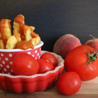 selbstgemachtes PFIRSICH KETCH-UP, CURRY KETCH-UP und PFIRSICH BBQ-SAUCE #Rezept #Food