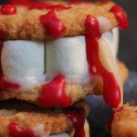 Schaurig schöne Last Minute Desserts fürs Halloween Buffet! Vampirkekse, Hexenmuffins und mehr...