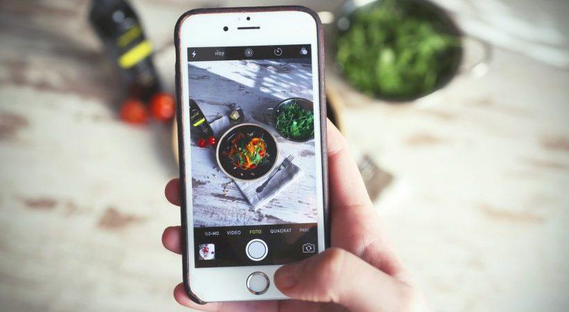 redes sociais gastronomia