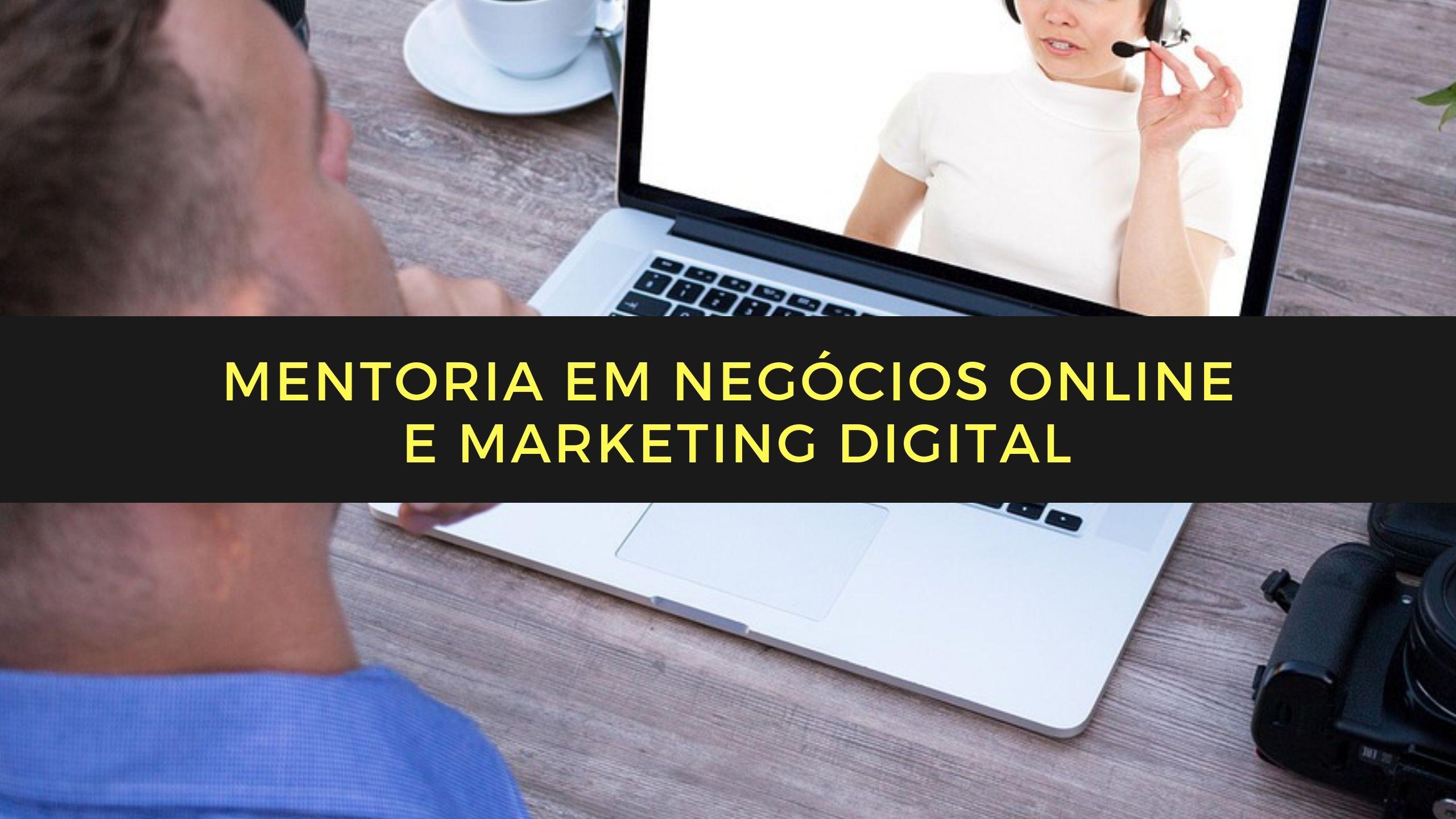 negócios online e marketing digital