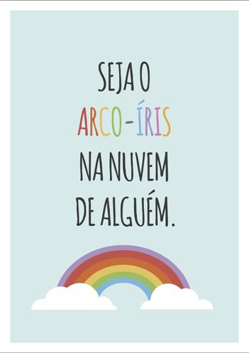 191 melhores imagens de desenho para colorir unicornio em. Quadro e poster Seja o arco-iris na nuvem de alguêm