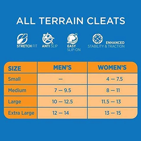 all terrain cleats sizes - QuadtrekUSA