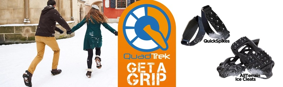 quick spilkes - all terrain ice cleats