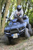 Kämpferherz: Cectek´s Gladiator 500 lässt sich nicht unterkriegen und startet einen neuen Anlauf den ATV-Olymp zu erobern.