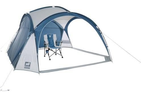 """Eine schöne Idee z.B. für Rennveranstaltungen ist das Party-Zelt """"Skara""""."""