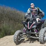 """Marcus Funk: """"Ich steige grade in den Offroad-Sport ein. Die Yamaha ist dafür optimal, bietet viel Potential wenn es weiter geht mit mir."""""""