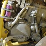 Der haut rein: 550 ccm, ein Zylinder-Zweitakt mit 80 PS.