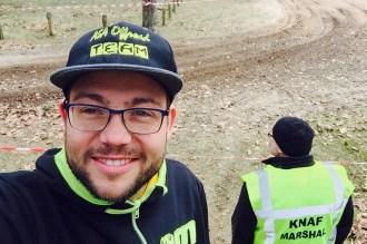 """Freut sich auf """"sein Race"""": Alexander Tasch ist bereits an der Strecke. Erkunden ;-)"""