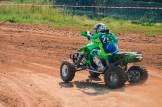 Quads: neben einigen ATVs waren auch Quads angereist und lieferten sich heiße Duelle.