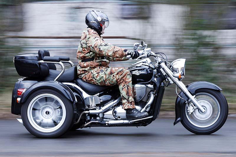 Wie viel ATV steckt im Trike von Rewaco?