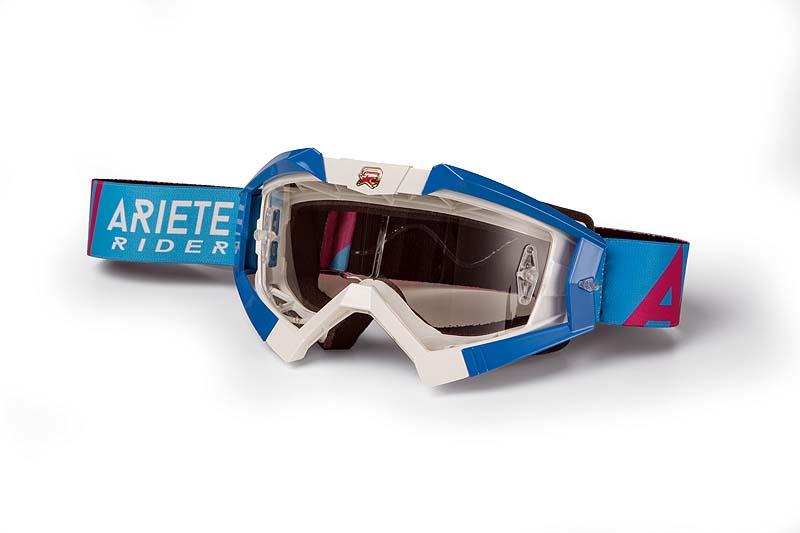 ARIETE: Optimaler Schutz für die Augen der Motorsportler.