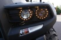 Edel: Die LED-Ringe um die Linsenscheinwerfer sind nur gegen Aufpreis zu haben.