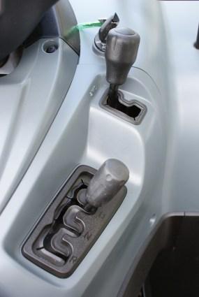Endlich: Die störrischen Drehschalter wurden durch die einfachen Hebeleien ersetzt.