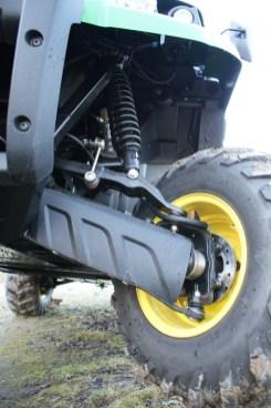 Klein aber oho: Die vier Bremsscheiben halten den Gator zuverlässig im Zaum.