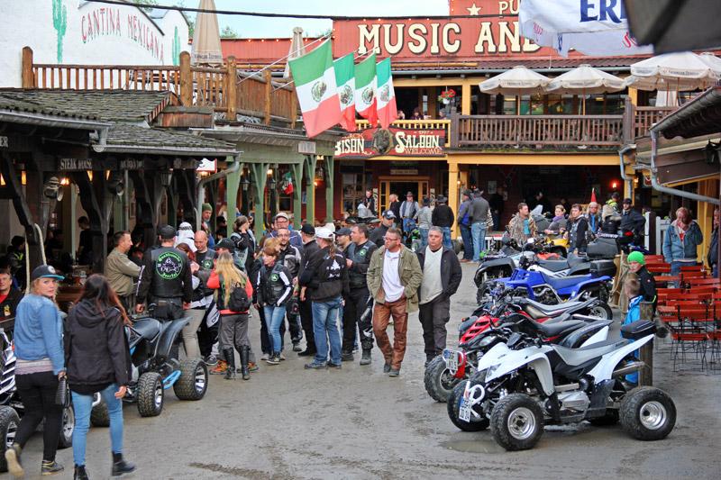 Die Szene trifft sich in Eging am See: Die Western- und die Quad-Fans.