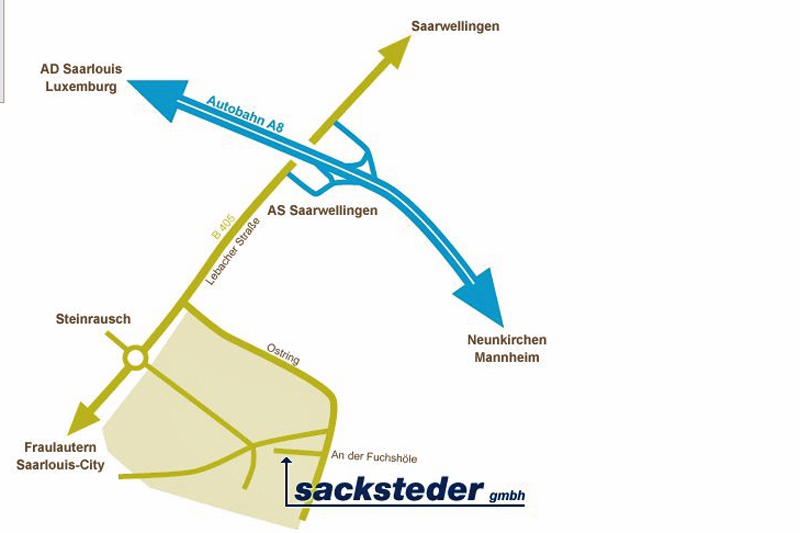 Auf zu Sacksteder ins Saarland!