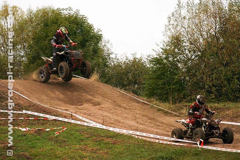 Die Sport-Quads starten 30 Sekunden vor den ATVs.