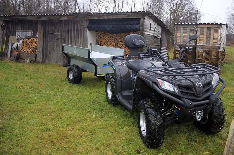 Der kompakte Anhänger für jedes ATV.