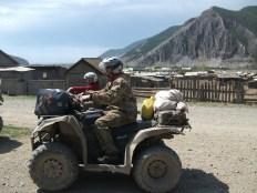 Big Country Erlebnisreisen Baikalsee ATV Verlassenes Dor