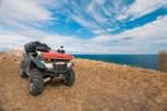 ATV on the lake
