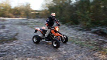 Klassik-Test: E.-ATV 690 Enduro