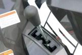 Butterweich: DerWahlschalter be- tätigt das kanadische CVT-Getriebe sehr präzise.
