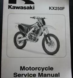 genuine kawasaki motorcycle service workshop manual 2009 kx250f kawasaki [ 1066 x 1600 Pixel ]