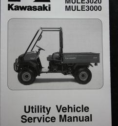 genuine kawasaki utility service workshop manual 01 08 mule 3010 3020 3000 kawasaki [ 1066 x 1600 Pixel ]