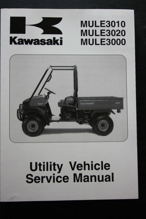 small resolution of genuine kawasaki utility service workshop manual 01 08 mule 3010 3020 3000 kawasaki